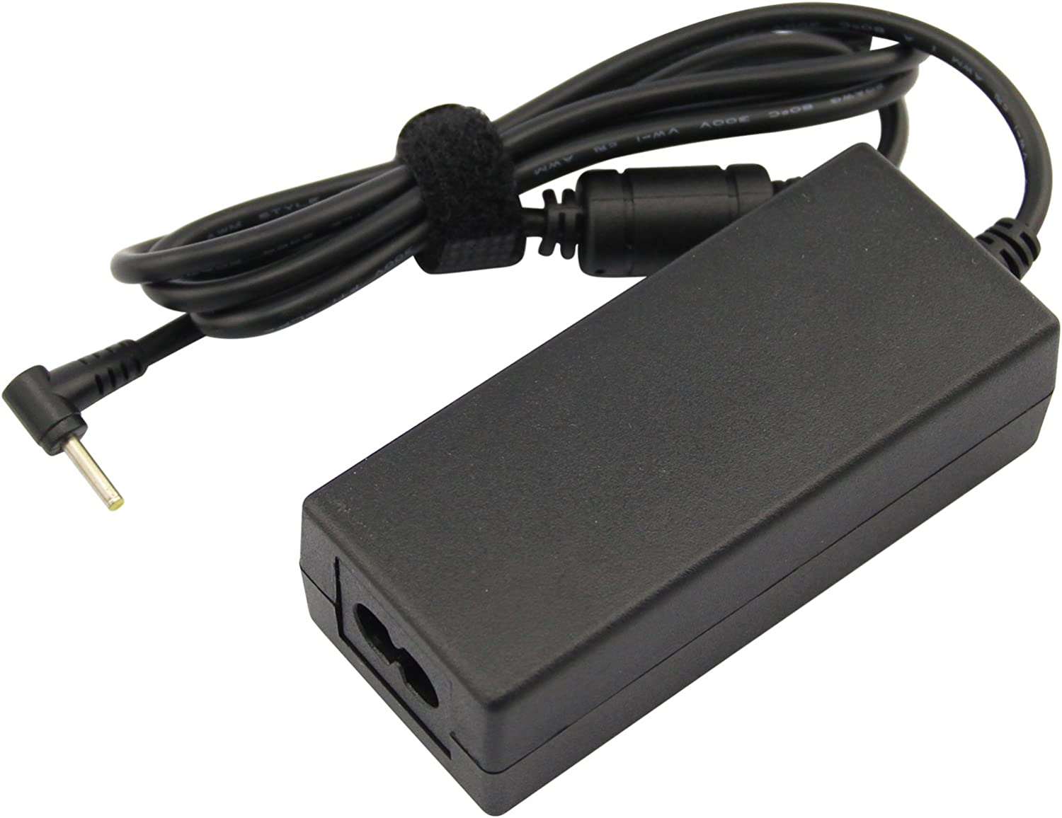 Futurebatt 19V AC Adapter Power Cable For Asus Eee PC Seashell 1005 1005P 1008 1008P 1008PB 1015PE 1015P 1015PD 1015PN 1015T 1016P 1201HA 1201N 1215P 1215T 1225B 1225C Series Charger Power Supply Cord