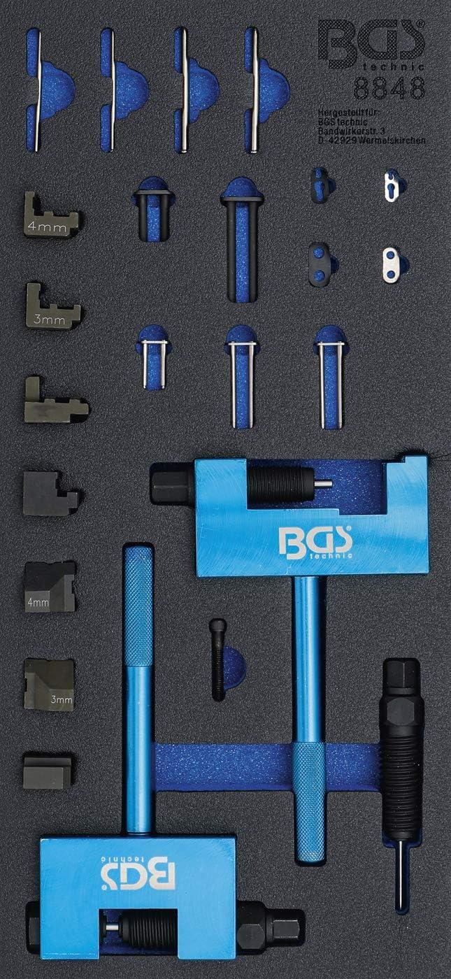 Steuerkette Wechsel Steuerketten-Nietger/ät f/ür Mercedes-Benz Nietwerkzeug f/ür Steuerketten BGS 8848