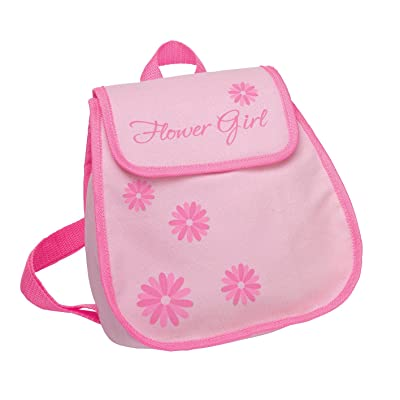 Lillian Rose Flower Girl Backpack Bag Keepsake Gift: Home & Kitchen