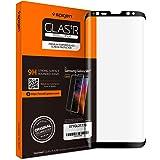 Spigen Samsung Galaxy S8 PLUS Glas.tR Slim Tempered Curved Glass Screen Protector - Case Friendly