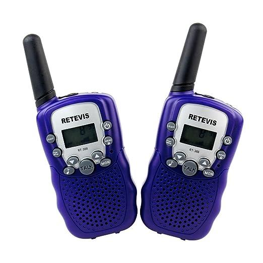 178 opinioni per Retevis RT-388 Walkie Talkie Ricetrasmettitore 8 Canali VOX Ricetrasmittente per