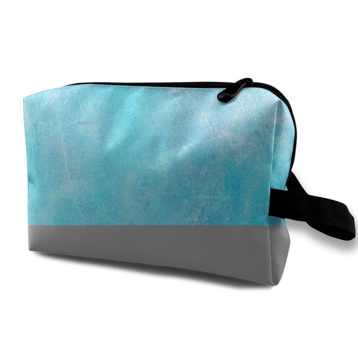 c9b1ba51de5 Com Makeup Bag Tiffany Blue Glitter Portable Travel Multifunction Bags  Vintage Case For Girls Beauty