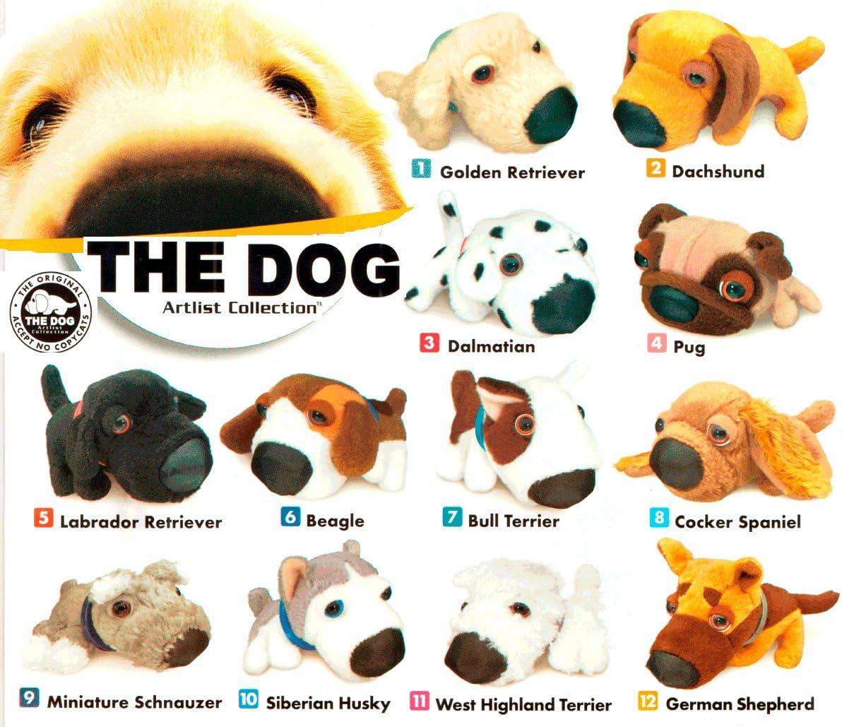 Set Of Dog Stuffed Animals, Amazon Com Mcdonalds Artlist Collection The Dog Complete Set Of 12 Plush Animals Everything Else