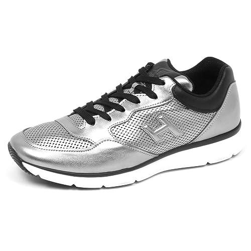 e6f0010234c70 Hogan E3074 Sneaker Uomo Grey Black H254 Scarpe H 3D Shoe Man  Amazon.it   Scarpe e borse