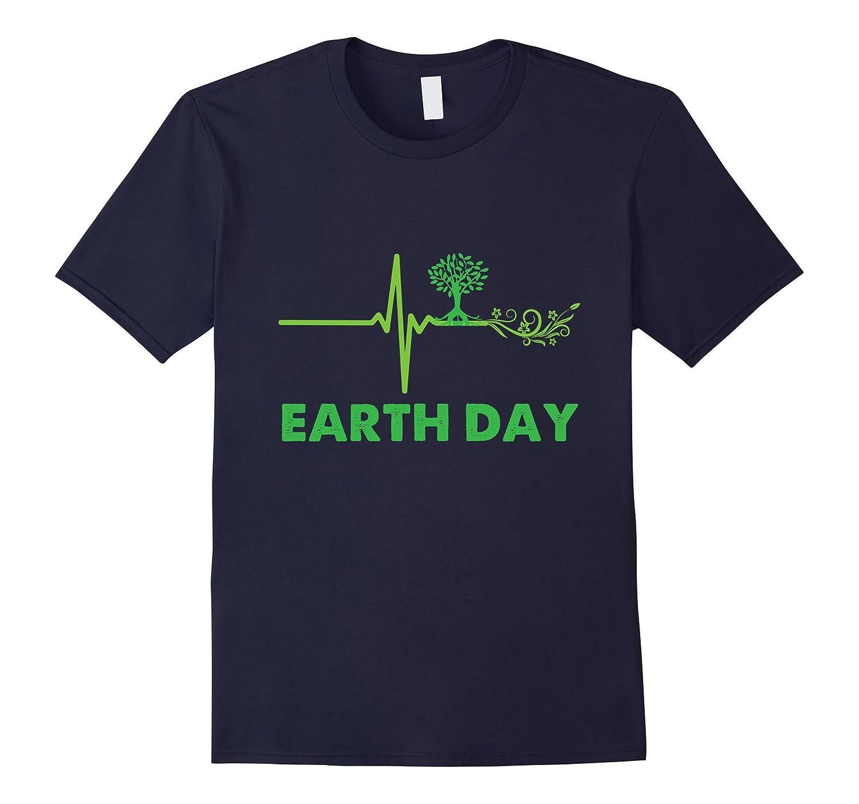 Earth Day Shirt 2017 Heartbeat Green T Shirt-Vaci
