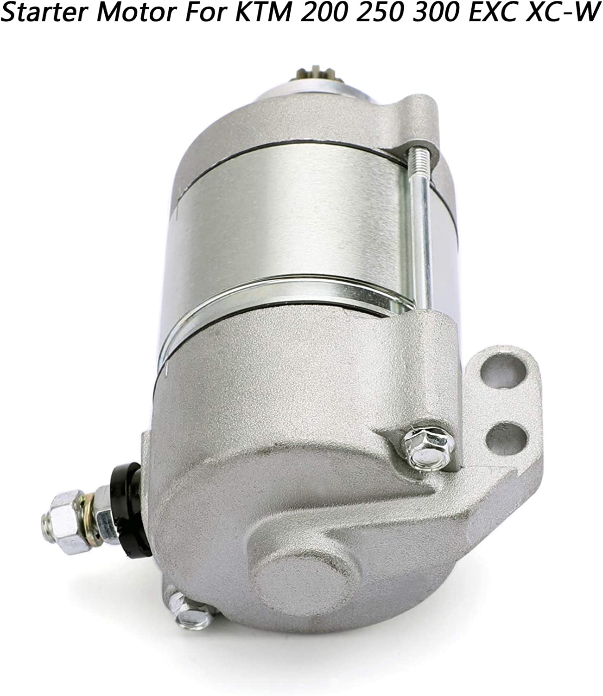 Areyourshop Motor de arranque el/éctrico para K-T-M 200 XC-W 2013-2016 250 300 EXC XC XC-W Seis Days