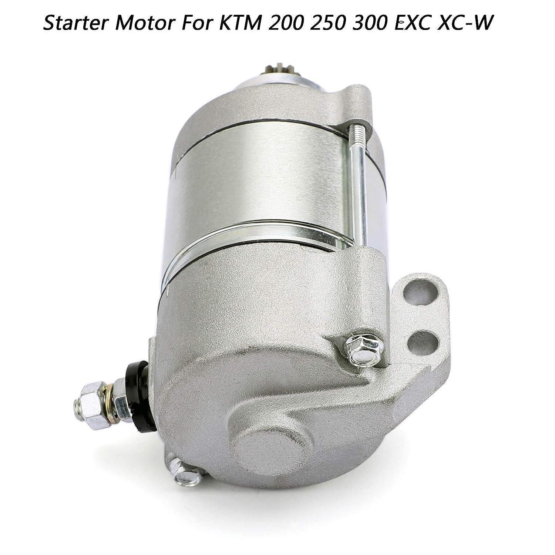 Artudatech Motorino Avviatore Elettrico Moto 12V Motore Elettrico Starter Motor per K-T-M 200 XC-W 2013-2016 250 300 EXC XC XC-W 6 giorni