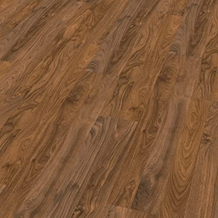 Elesgo Laminate Floor Color Walnut Glossy Finish 212 Sqft Made