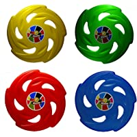 sunnytoyz Colourful Plastic Frisbee Combo (Multicolour)