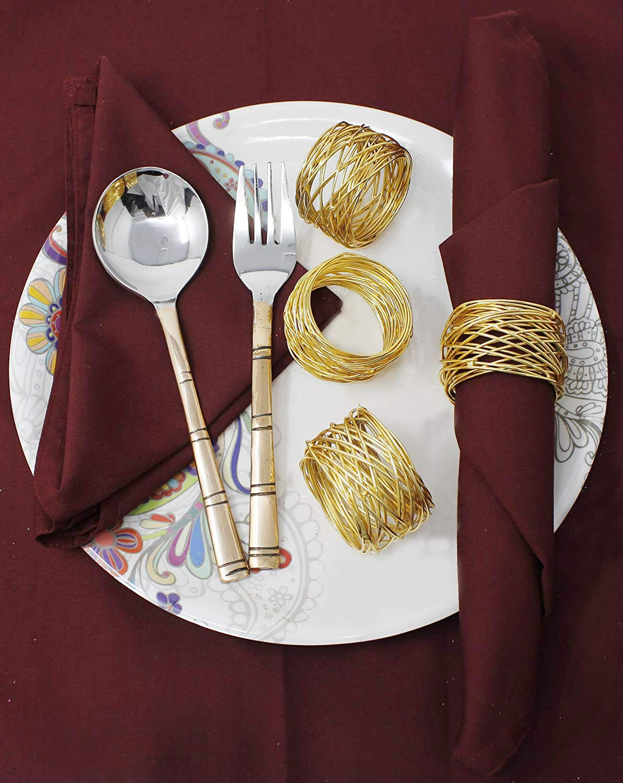 Napkin Rings Set for Beautiful Table Decor