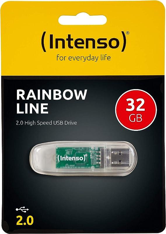 Intenso Rainbow Line Usb Flash Drive Computers Accessories