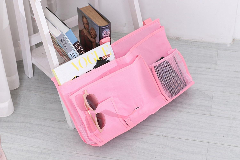 HYCONCAM Multipurpose Room Caddy Bedside Organiser Pocket for Nursery Baby Phone Bedroom Cabin Beds