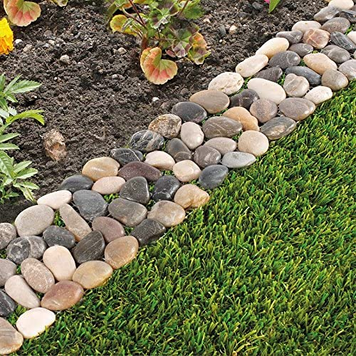 Paquete de 8 parterres de piedra para jardín: Amazon.es: Jardín