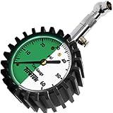 TireTek Tire Pressure Gauge 0-60 PSI - Tire Gauge for Car, SUV, Truck & Motorcycle - Heavy Duty Air Pressure Gauge ANSI…