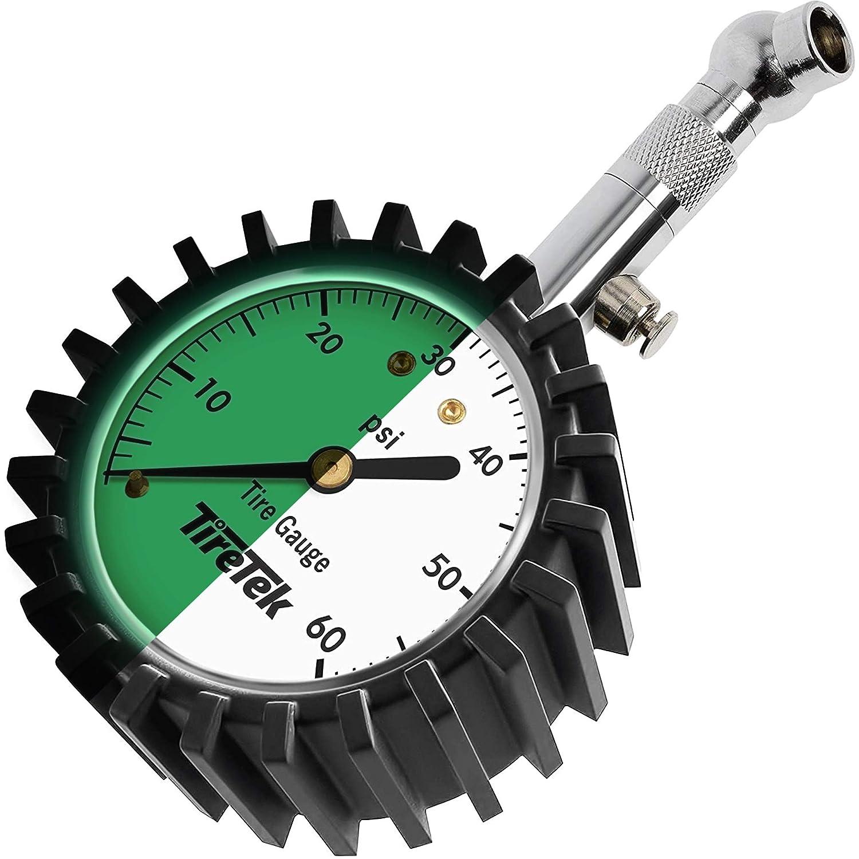 TireTek Heavy Duty Tire Pressure Gauge 0-60 PSI