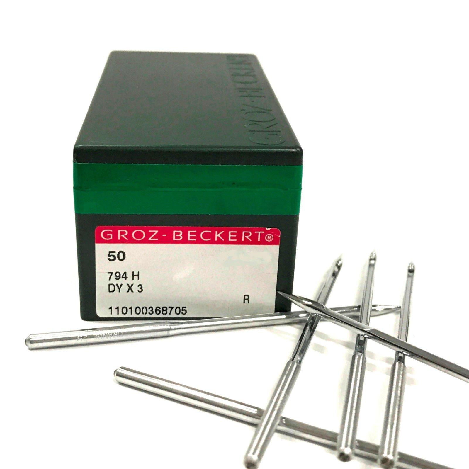 50 Pk. Groz-Beckert 794H 7X3 DYX3 Industrial Sewing Machine Needles by Groz-Beckert
