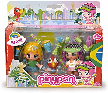 Pinypon - Pack viaja por el Mundo: Brasil (Famosa 700011161 ...