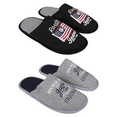 af8a15d88a35e Rivaldi - Pantoufles garçon Lot de 2  Amazon.fr  Chaussures et Sacs