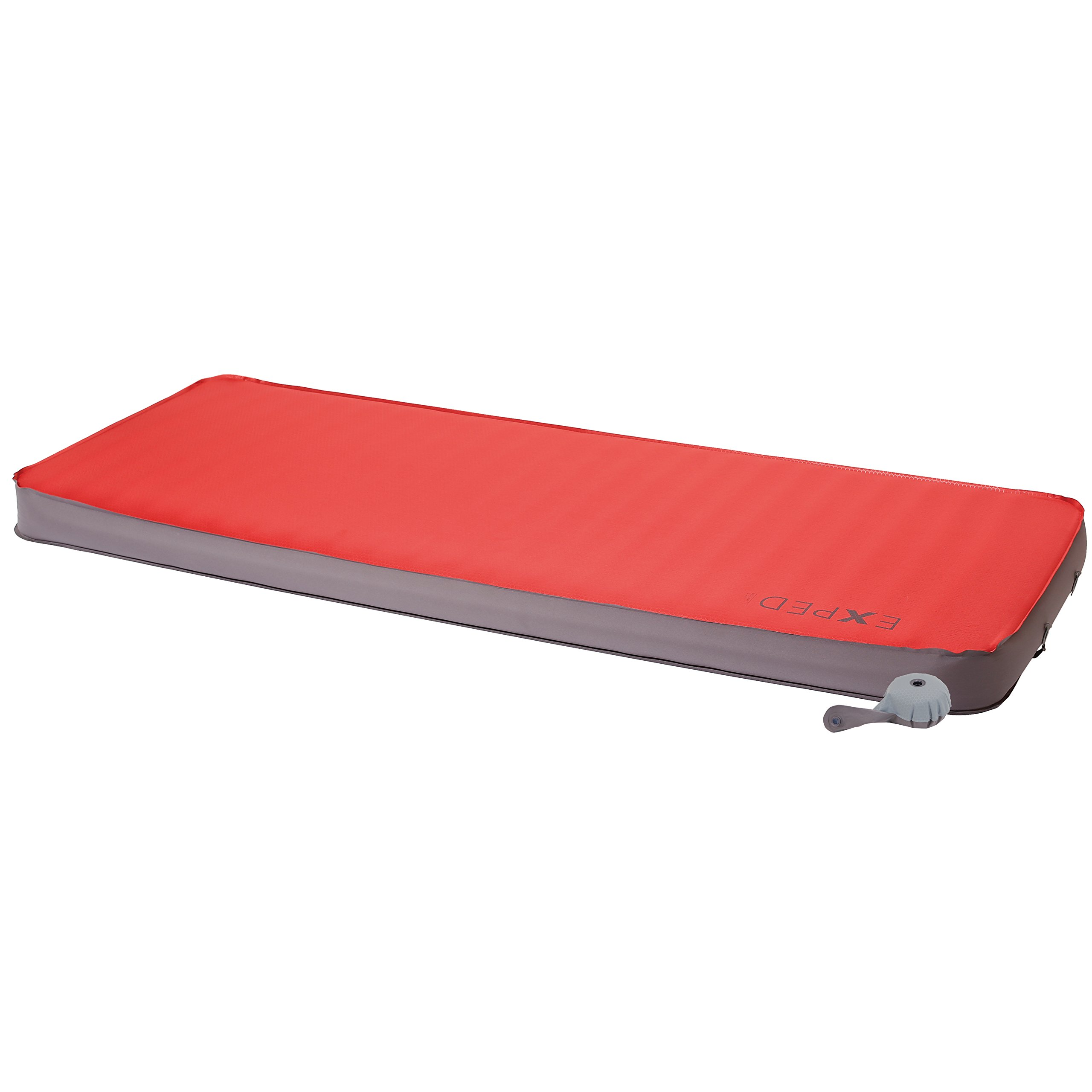 Exped Megamat 10 Insulated Self-Inflating Sleeping Pad, Ruby Red, Long Wide by Exped