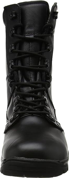 Bottes /& Bottines de Travail Mixte Adulte Black 39 EU Noir Magnum Elite II Leather