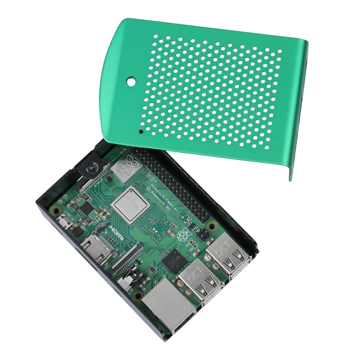 Amazon.com: Raspberry Pi 3 Modelo B + Aluminio Carcasa Metal ...
