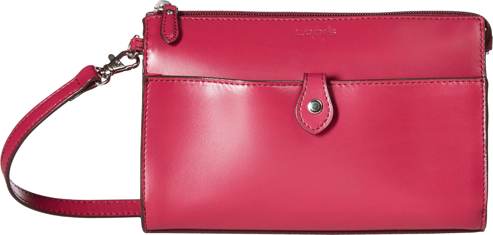 Lodis Accessories Women's Audrey RFID Vicky Convertible Crossbody Clutch Berry/Avocado One Size