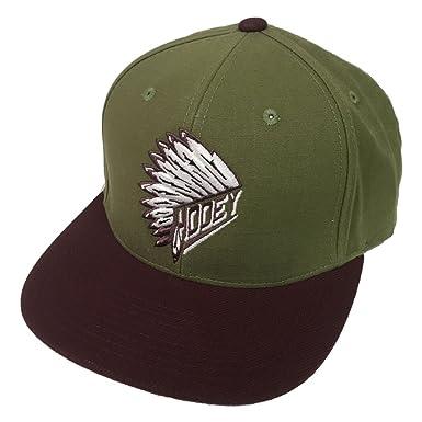 Amazon.com  HOOey Brand Quanah Olive Green Snapback Hat - 1770T-GN ... 28b80930db1