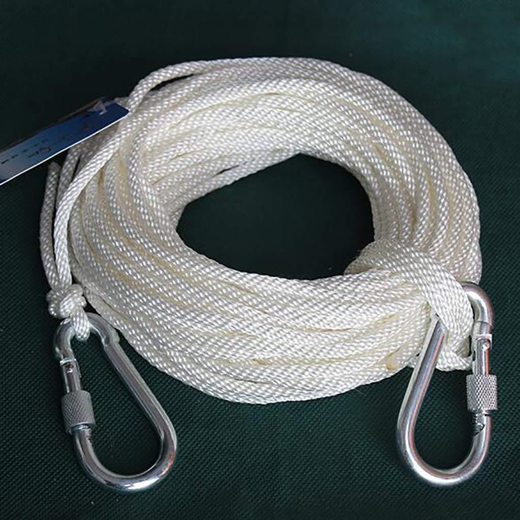 LXYFMS Corde à Lier en Nylon, Corde de Rechange pour extérieur, Corde à Linge diamètre 4mm Corde d'alpinisme (Taille   30m) 30m