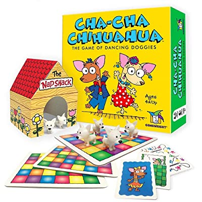 Gamewright Cha-Cha Chihuahua The Game of Dancing Doggies: Toys & Games