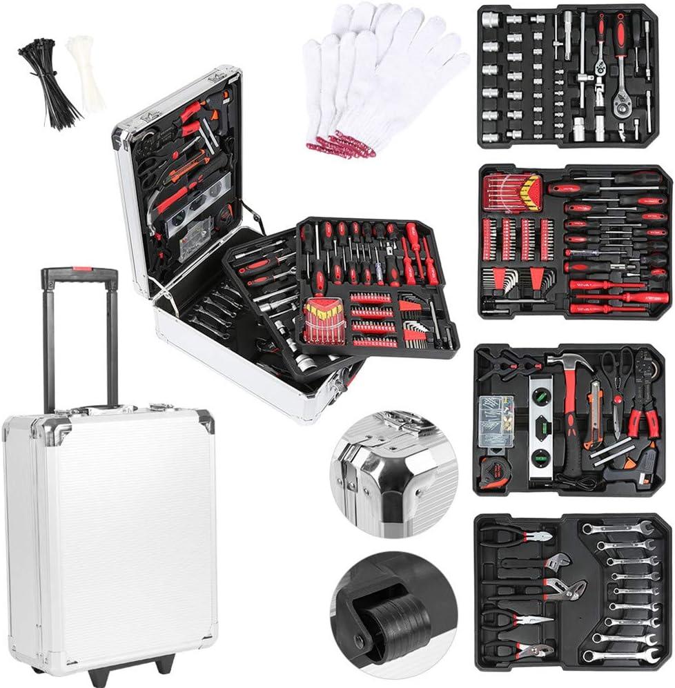 Herramientas con herramientas lleno, herramientas Trolley Caja de herramientas. Set Herramientas Bolsa: Amazon.es: Bricolaje y herramientas