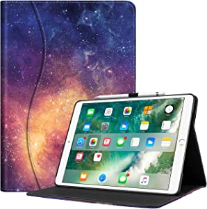 Fintie Case for iPad Air (3rd Gen) 10.5″ 2019 / iPad Pro 10.5″ 2017- [Sleek Shield] Premium PU Leather Slim Fit Multi Angle Stand Cover with Pocket Sweepstakes