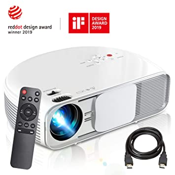 Amazon.com: Proyector COFUN CL760 3600 Lux Full HD Led Video ...