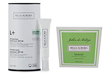 Bella Aurora L+ Localized Spots SPF 15. Sensitive Skin 10ml + Sérénité Soap 100gr