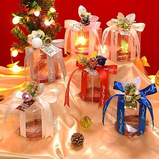 gousheng Caja De Navidad Caja Caja De Regalo Hexagonal Caja De ...