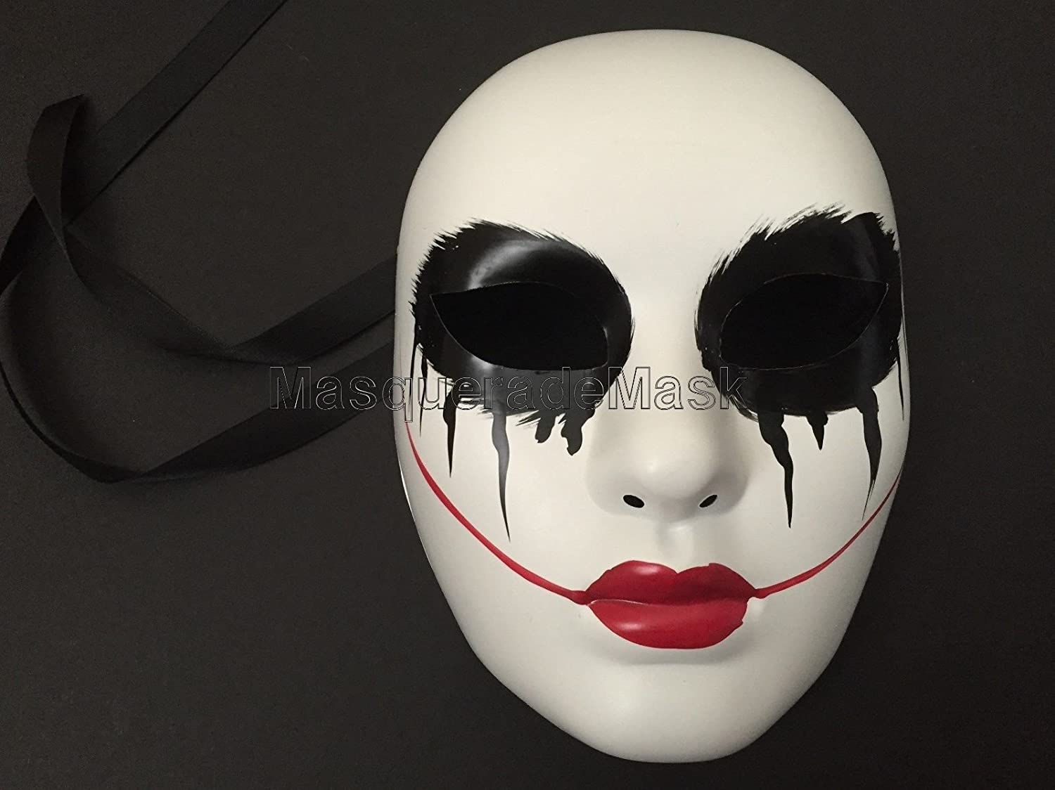Amazon.com: The purge mask Anarchy Purge movie Red lips women mask horror purge masked men Halloween Costume Party: Home & Kitchen