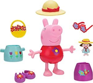 Peppa Pig Spring Deluxe Dress & Play Large Figure