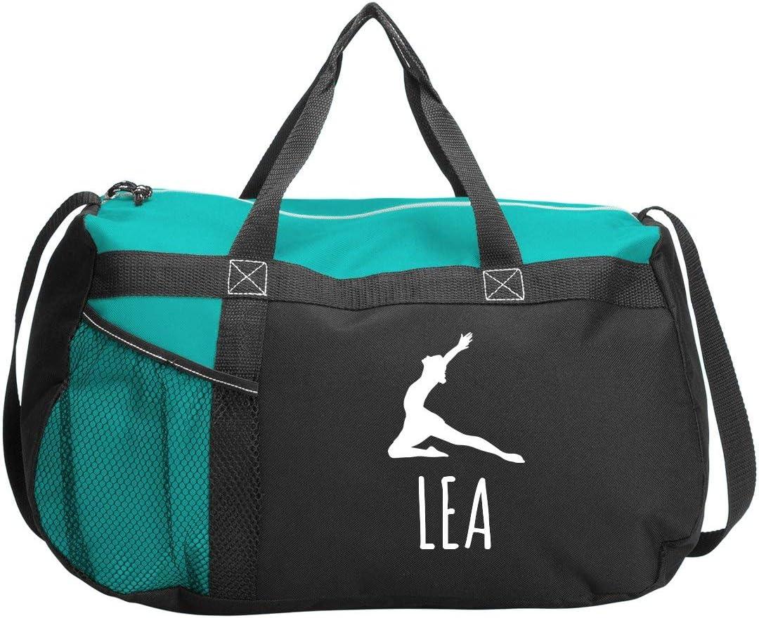 Gym Duffel Bag FunnyShirts.org Leah Gymnastics /& Dance