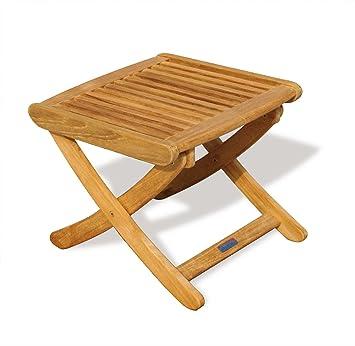 Teak Footstool/Side Garden table - Jati Brand Quality u0026 Value  sc 1 st  Amazon UK & Teak Footstool/Side Garden table - Jati Brand Quality u0026 Value ... islam-shia.org