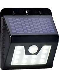 Outdoor step lights amazon lighting ceiling fans thspow 12leds waterproof outdoor wall led solar night light pir motion sensor auto swith solar lamp workwithnaturefo