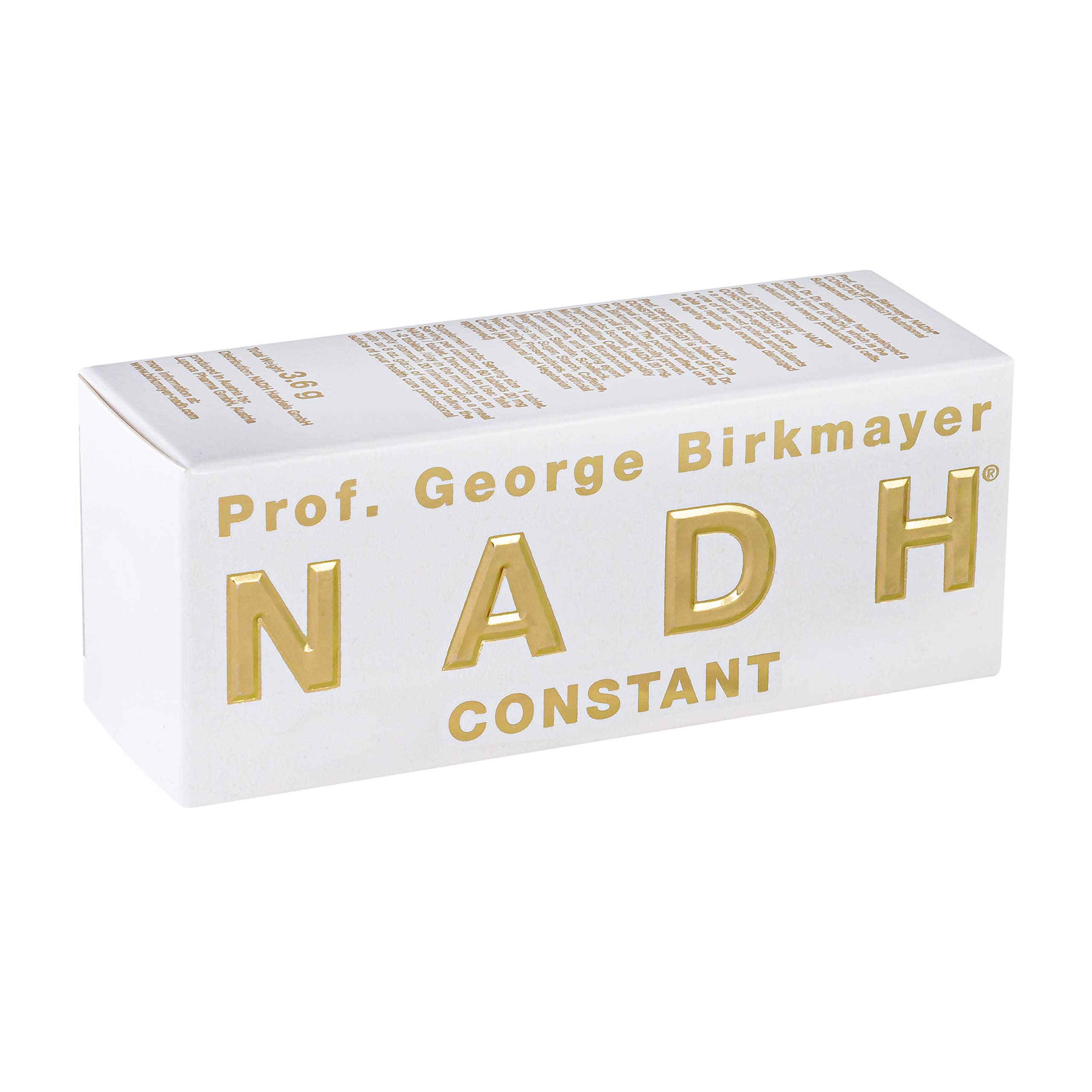 Prof. George Birkmayer NADH – Constant Energy (60 Tablets, 20 mg NADH/Coenzyme 1 per Tablet)