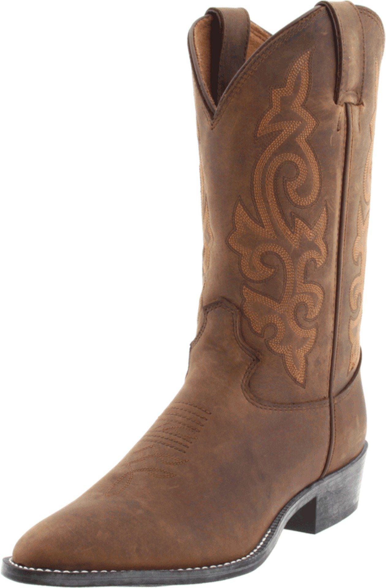 Justin Boots Classic Western Boot (toddler/Little Kid/Big Kid),Bay Westerner,2 D US Little Kid