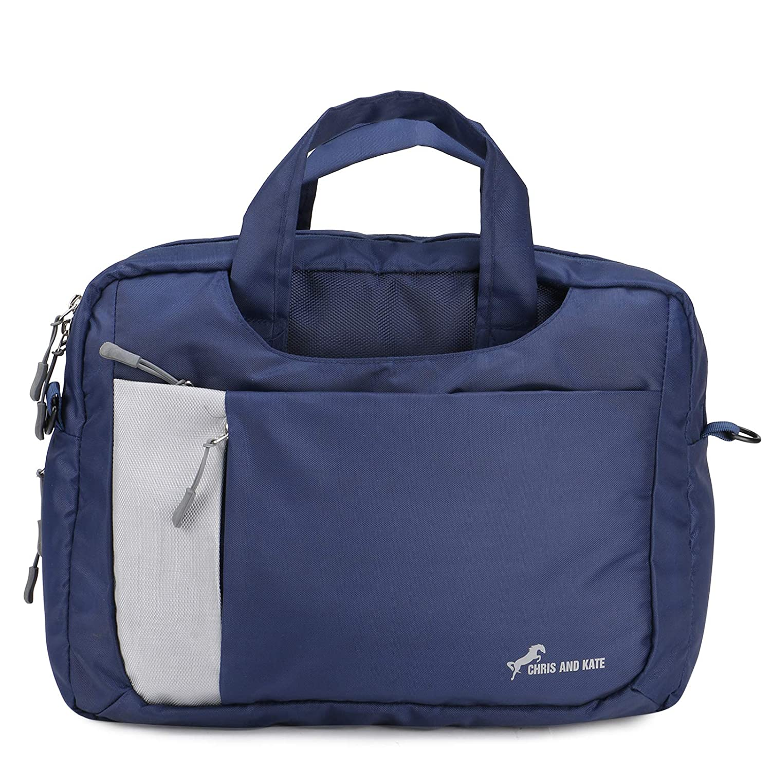 Chris & Kate Blue 4-Way Laptop Bag - Hand | Shoulder |