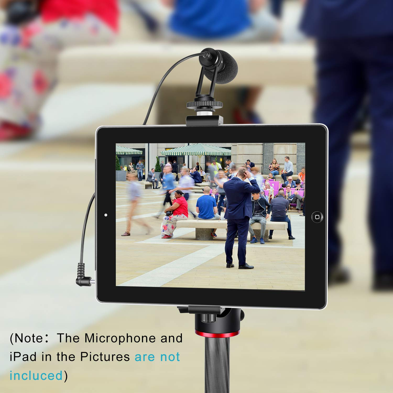 Neewer iPad Tablet Tripod Mount Adapter Holder iPad Air//Air2 iPad Pro Microsoft Surface Samsung Tab 7.0 Series 6.3-9.25 inches//16-23.5 centimeters Adjustable Clamp for iPad Mini iPad 2//3//4