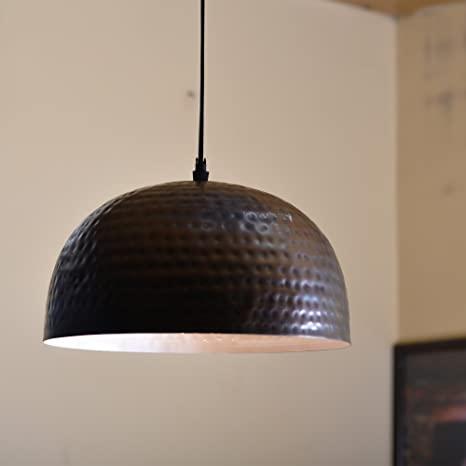 buy homesake antique copper hammered pendant light hanging lamp 10