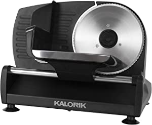 Kalorik 200 W Professional Food Slicer, Black