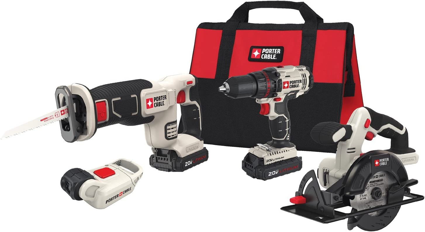PORTER-CABLE Cordless Drill Combo Kit Power Tool