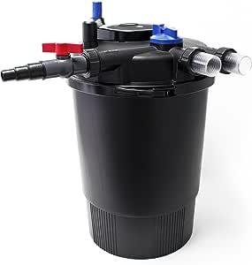 SunSun CPF-30000 Filtro presión UVC integrada 55W para estanques hasta 60000L Jardín koi Peces