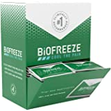 Biofreeze - 11790 On-the-Go Pain Relief Gel, 5 mL Packets, 100 Count, Green (Packaging May Vary)