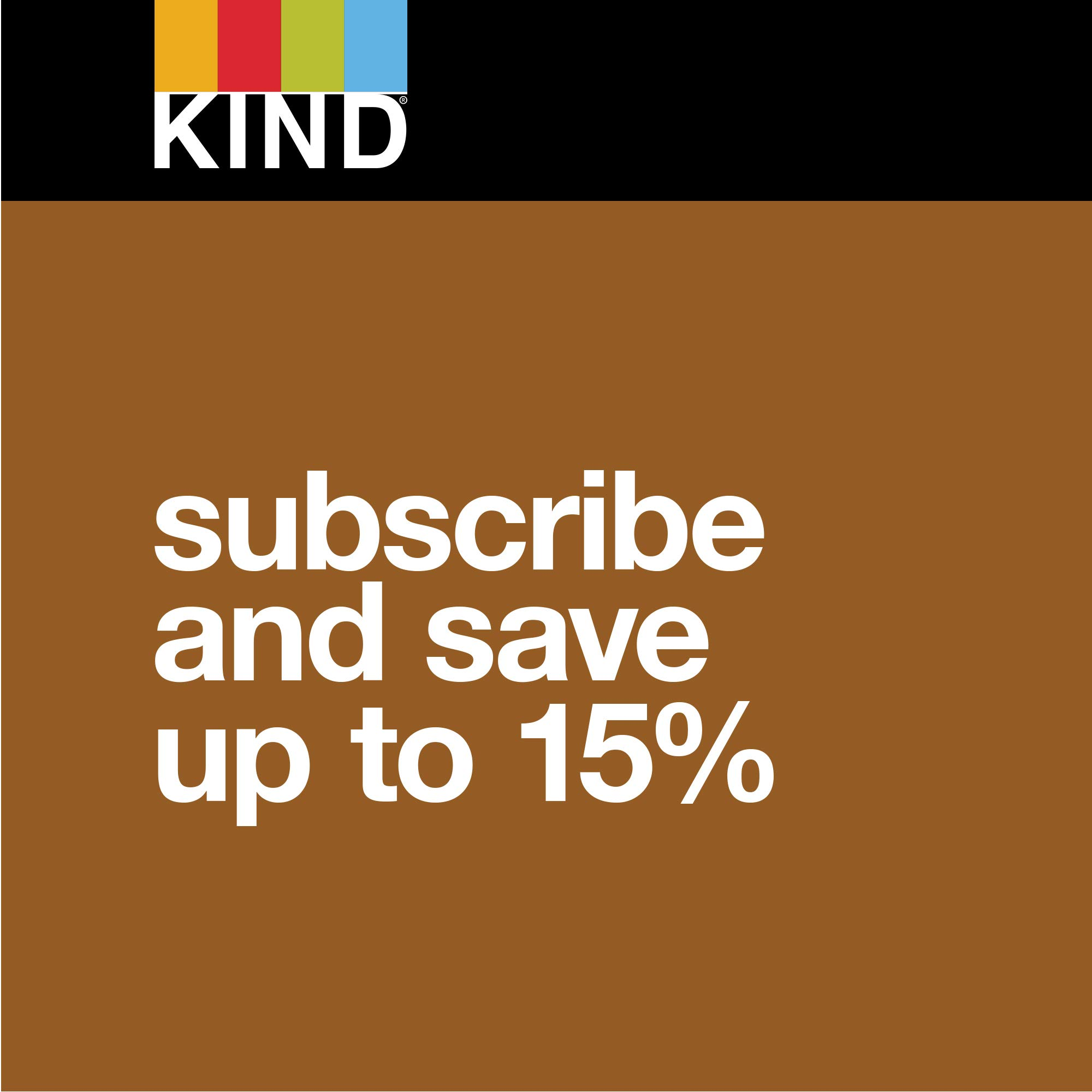 KIND Bars, Peanut Butter Dark Chocolate, 8g Protein, Gluten Free, 1.4 oz Bars, 48 Count by KIND (Image #6)
