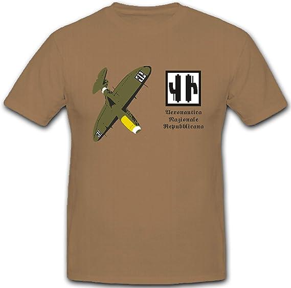 Aeronautica nazis onale repubbli Cana Escudo nadadores Italia Aire Fuerza Armadas – Camiseta # 2974: Amazon.es: Ropa y accesorios